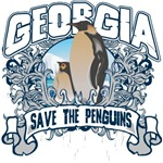 Save the Penguins Georgia T-Shirts and Gifts