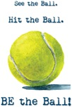 BE the Ball! tennis design