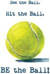 BE the Ball! tennis design