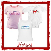Horse T-Shirts and Gifts