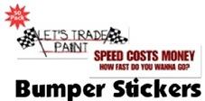 Racing Bumper Stickers