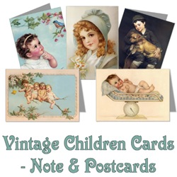 Vintage Children Greeting Cards