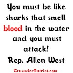 Rep. Allen West, Sharks quote
