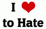 I Love to Hate