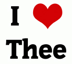 I Love Thee