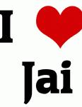 I Love  Jai