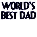 WORLD'S BEST DAD DARK BLUE