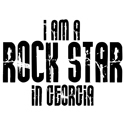 Rock Star In Georgia T-shirts