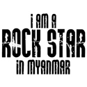Rock Star In Myanmar
