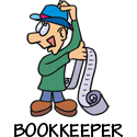 Bookkeeper T-shirt, Bookkeeper T-shirts