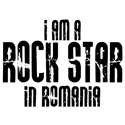 Rock Star In Romania T-shirt