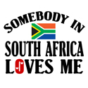 Somebody In South Africa T-shirt