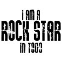Rock Star In Togo T-shirts