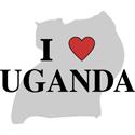 I Love Uganda Gifts