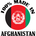 100% Made In Afghanistan