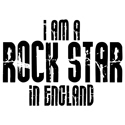 Rock Star In England T-shirt