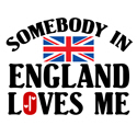 Somebody In England T-shirt