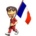 3D France T-shirt