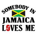 Somebody In Jamaica T-shirt