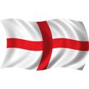 Wavy England Flag
