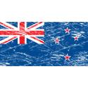 Vintage New Zealand Flag
