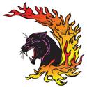 Flaming Panther Tattoo