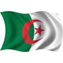 Wavy Algeria Flag