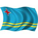 Wavy Aruba Flag