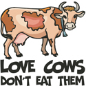 Vegetarian Love Cows