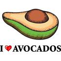 Avocado T-shirt, Avocado T-shirts