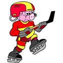 Ice Hockey Pig T-shirt & Gift