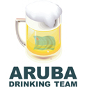 Aruba Drinking Team