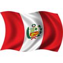 Wavy Peru Flag
