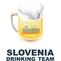 Slovenia Drinking Team