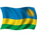 Wavy Rwanda Flag