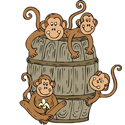 Barrel Monkey