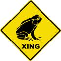 Frog Crossing