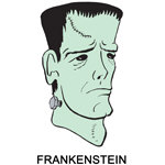 Frankenstein T-shirt, Frankenstein T-shirts