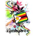 Flower Zimbabwe T-shirt