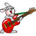 Cute Funky Rabbit