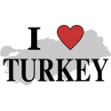 I Love Turkey Gifts