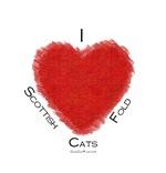 I (heart) Scottish Fold Cats