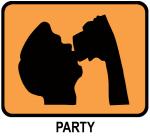 Party (orange)
