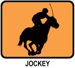 Jockey (orange)
