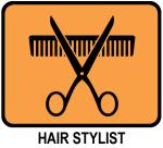 Hair Stylist (orange)