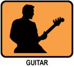 Guitar (orange)