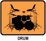 Drum (orange)