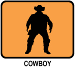 Cowboy (orange)