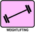 Weightlifting (pink)