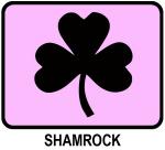Shamrock (pink)
